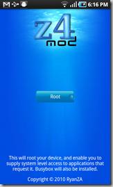 z4rootscreenshot