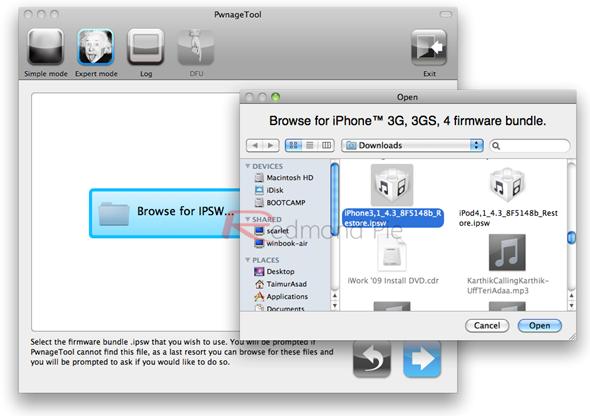 iOS 4 3 Beta Jailbreak on Apple iPhone 4 Using PwnageTool